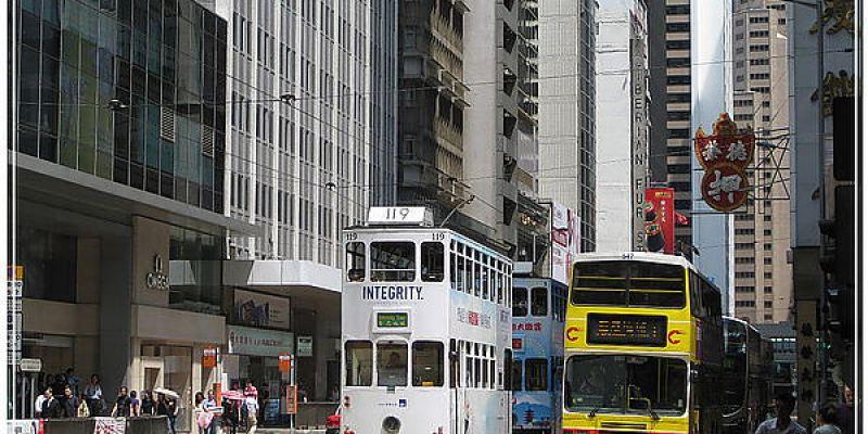 前進香港 逍遙叮叮車與三不賣~這啥碗糕?