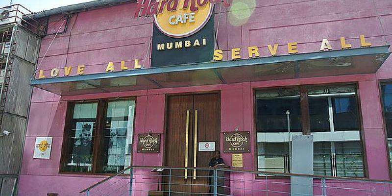 奇幻西印Day12 孟買 Hard Rock Cafe 硬石餐廳