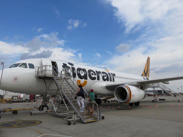 《澳洲》墨爾本 Melbourne Tiger Air Australia 一連串的順利啊