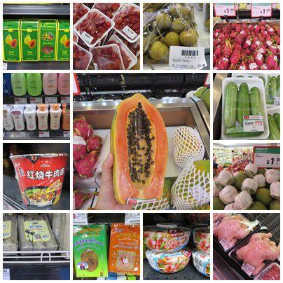 吳與倫比。柬埔寨。Lucky Supermarket 幸運超市 紅毛丹便宜到掉渣