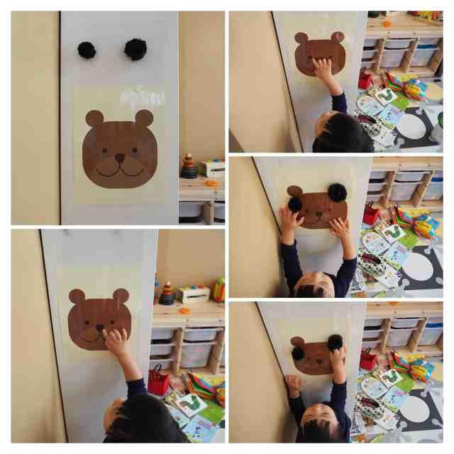 黏黏熊 一歲寶寶遊戲