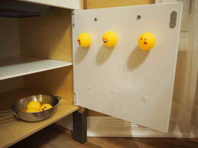 乒乓球黏黏看 小遊戲