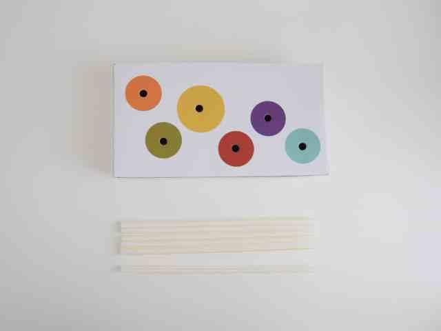 自製玩具-DIY空面紙盒玩具 小遊戲