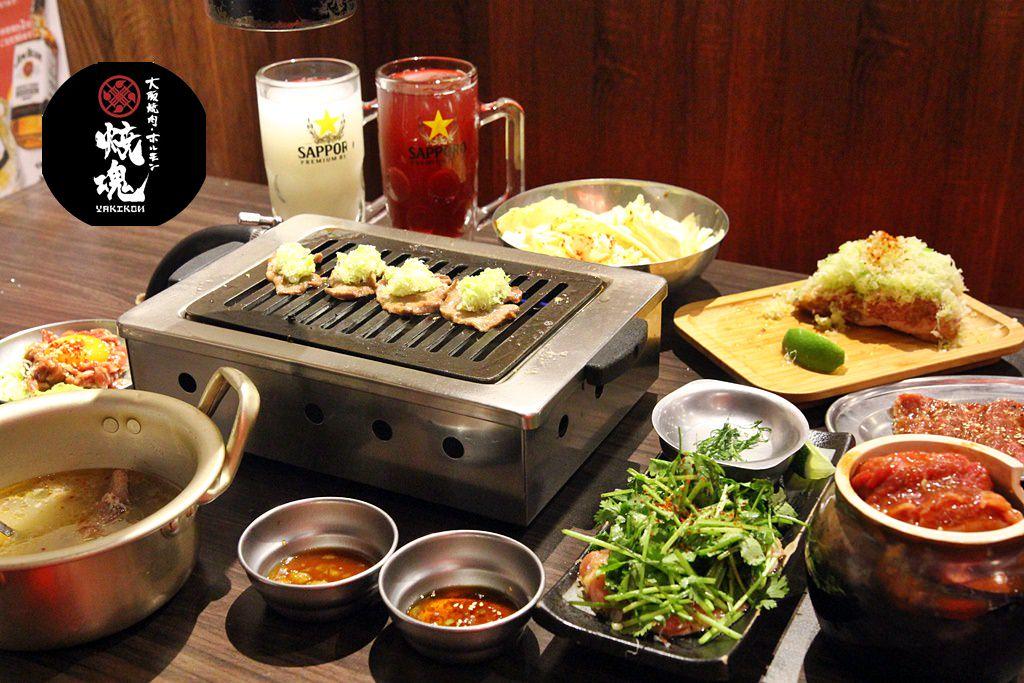新竹美食│大阪燒肉燒魂Yakikon新竹店。享受純正日本燒肉世界的樂趣* - 牛牛肥滋滋