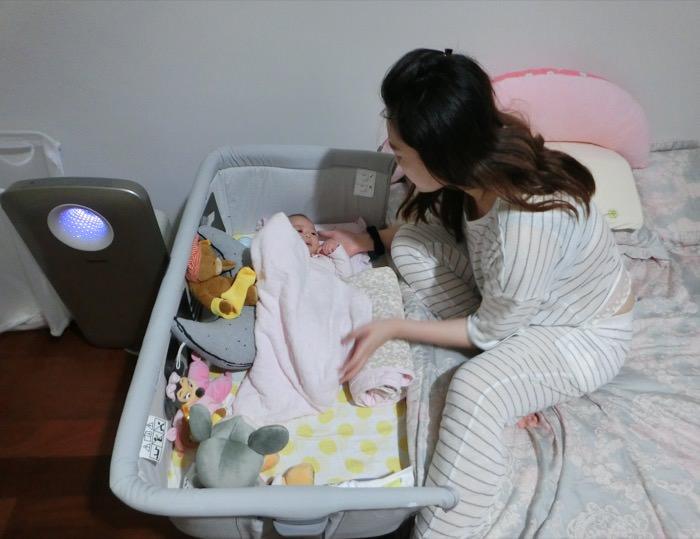 寶寶專屬的第一張小床♥Chicco Next 2 Me多功能移動舒適嬰兒床 - sillypeggy│佩姬愛玩美