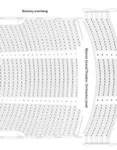 Seating chart also warner grand theatre rh pmg mpletix