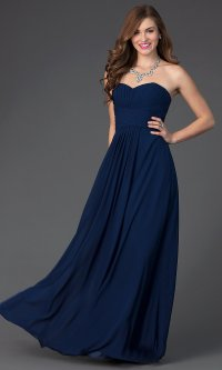 Formal Dresses Navy Blue