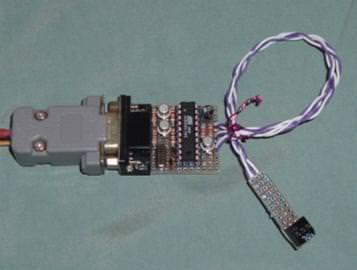 89S51/52燒錄器 – 透過RS232及89C2051燒錄