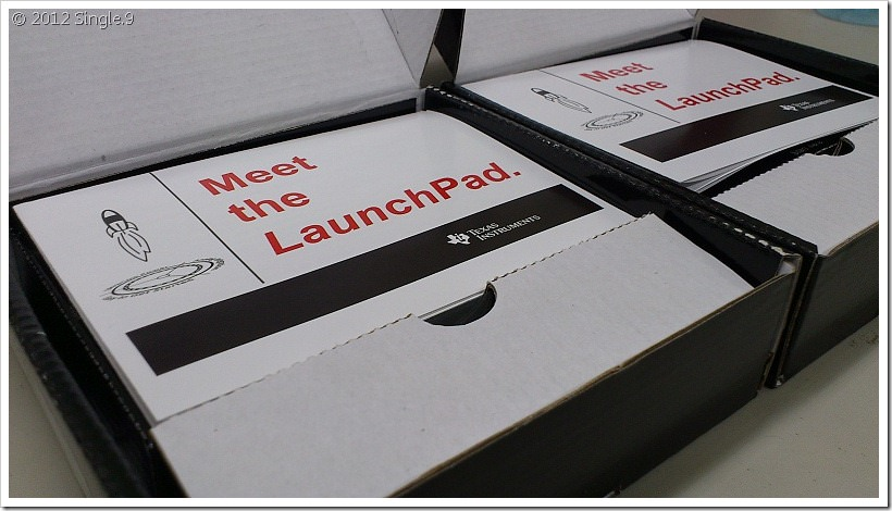 開箱 TI MSP430 Launch Pad