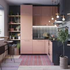 Kitchen Island With Range Lg Appliances Reviews 50个漂亮的l型厨房设计 设计之家