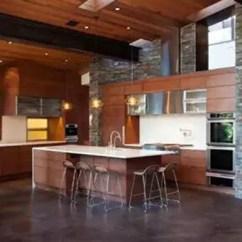 Kitchen Island With Range 1950s Formica Table And Chairs 厨房装修技巧和布局形式解析 设计之家 一字型 岛台布局 适合开放型