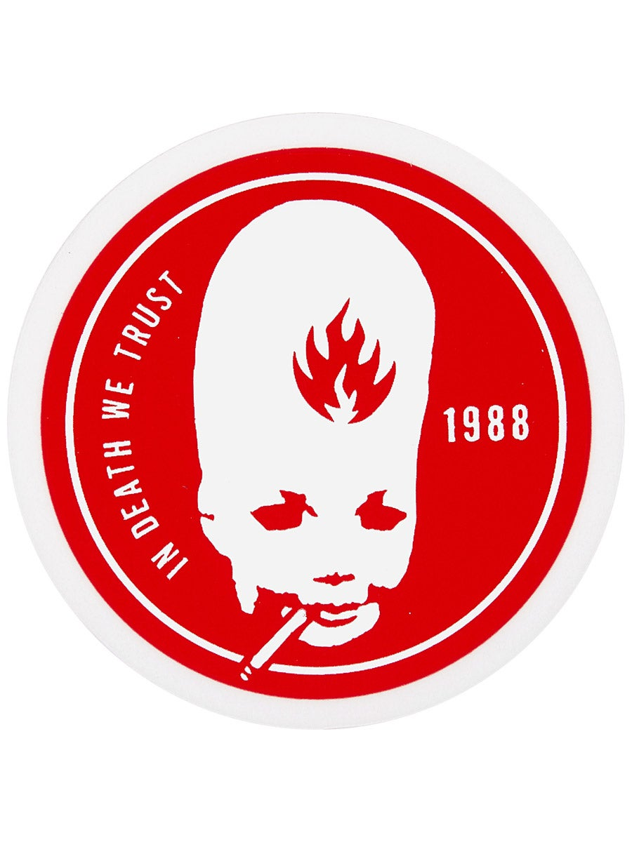 black label thumbhead red