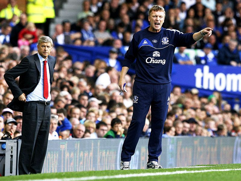 david moyes everton wont be cracking the top four with performances like they put in against arsenal
