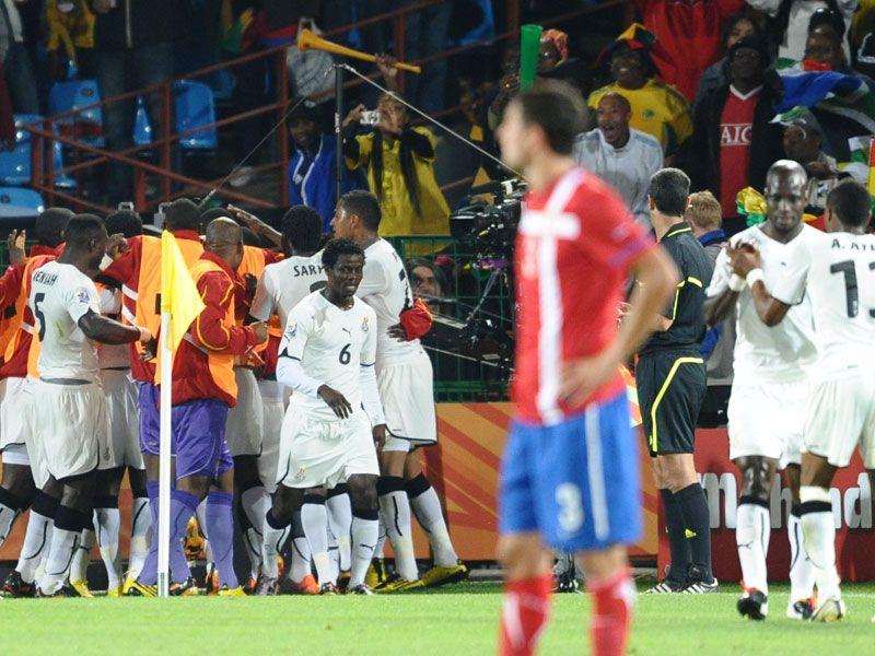 Serbia 0 Ghana 1
