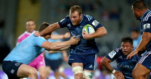 Luke Braid of the Blues v Waratahs 2014