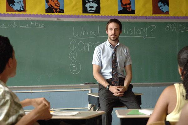 Ryan Gosling in Half Nelson.