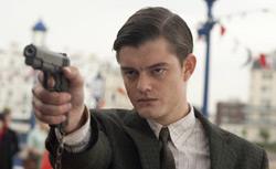"Sam Riley in ""Brighton Rock."" Click image to expand."