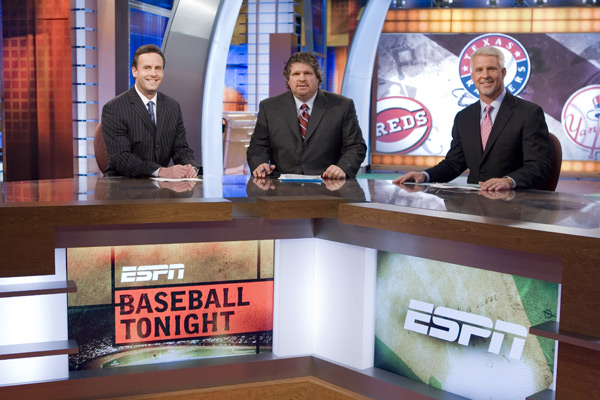 Karl Ravech, John Kruk, and Steve Phillips on Baseball Tonight.