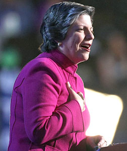 Arizona Gov. Janet Napolitano. Click image to expand.
