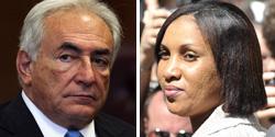 Dominique Strauss-Kahn and Nafissatou Diallo