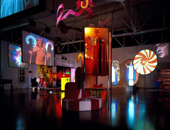 Mike Kelley's new installation, Day Is Done.