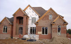 McMansion under construction