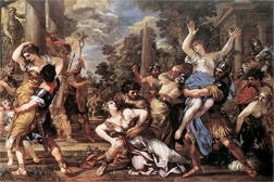 The Rape of the Sabine Women. Click image to expand.