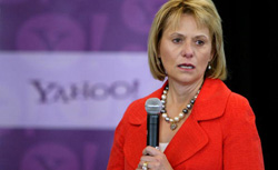 Fired Yahoo CEO Carol Bartz. Click image to expand.