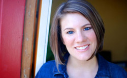 Evangelical blogger Rachel Held Evans.