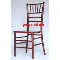 mahogany chivari chair