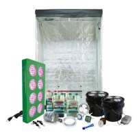 Grow Light Components HTG 2'x4' Hydroponic LED Grow Tent ...