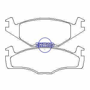 Suspension VW Polo Box Coupe Saloon Variant Brake pad FMSI
