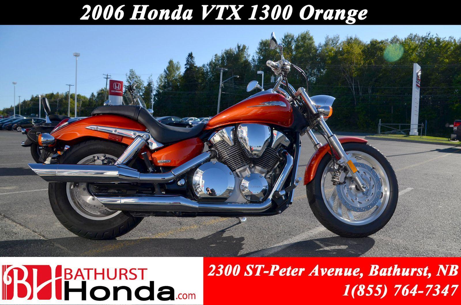 hight resolution of orange honda vtx 1300