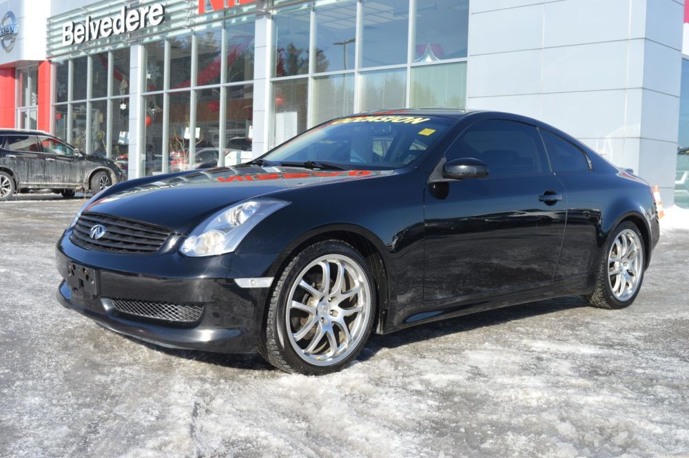 medium resolution of belvedere occasion used 2007 g35 coupe manuelle cam ra de recul toit ouvrant in saint j r me