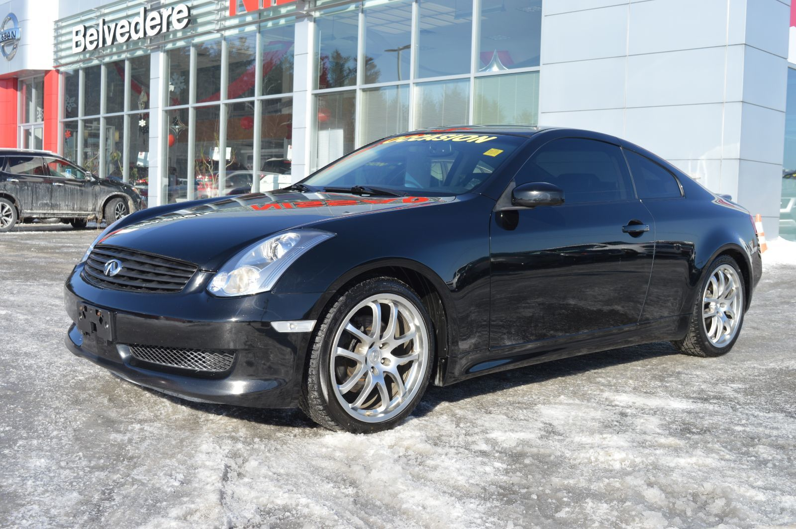 hight resolution of belvedere occasion used 2007 g35 coupe manuelle cam ra de recul toit ouvrant in saint j r me