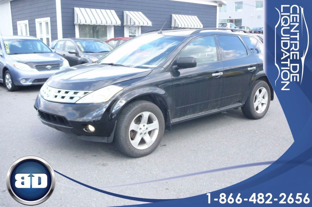 medium resolution of used 2004 nissan murano sl awd in granby used inventory centre de liquidation bd in granby quebec