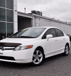 used 2007 honda civic sdn ex toit ouvrant mags in victoriaville used inventory honda victoriaville in victoriaville quebec [ 1600 x 1063 Pixel ]