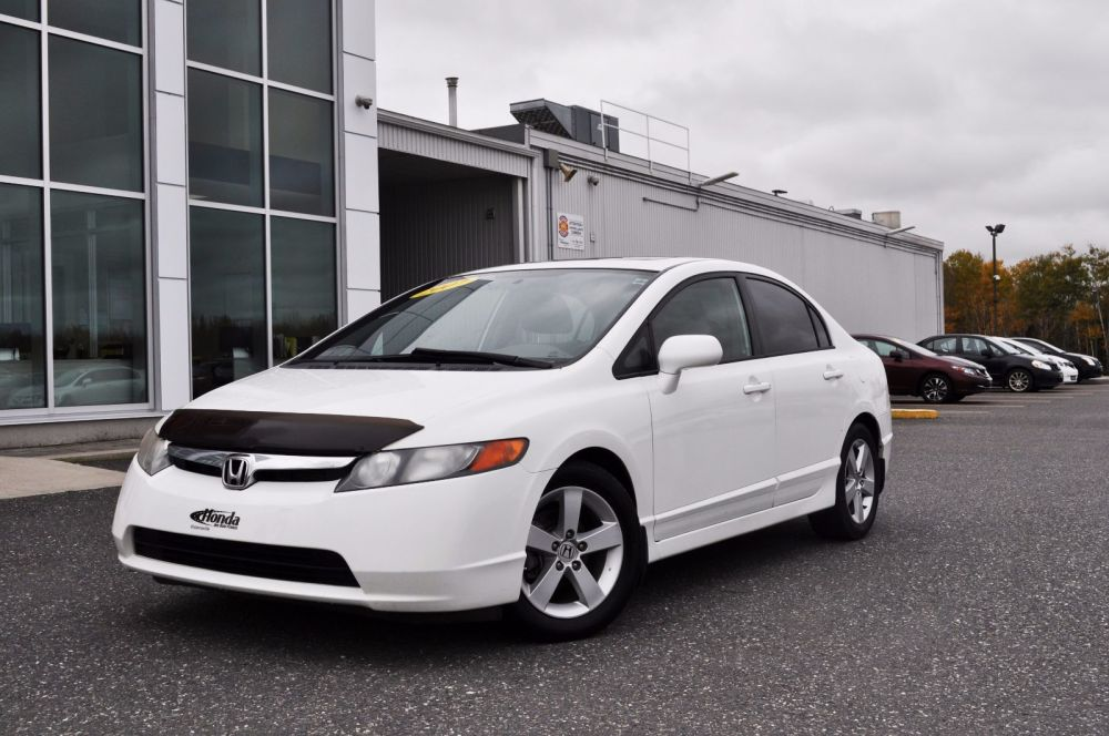 medium resolution of used 2007 honda civic sdn ex toit ouvrant mags in victoriaville used inventory honda victoriaville in victoriaville quebec