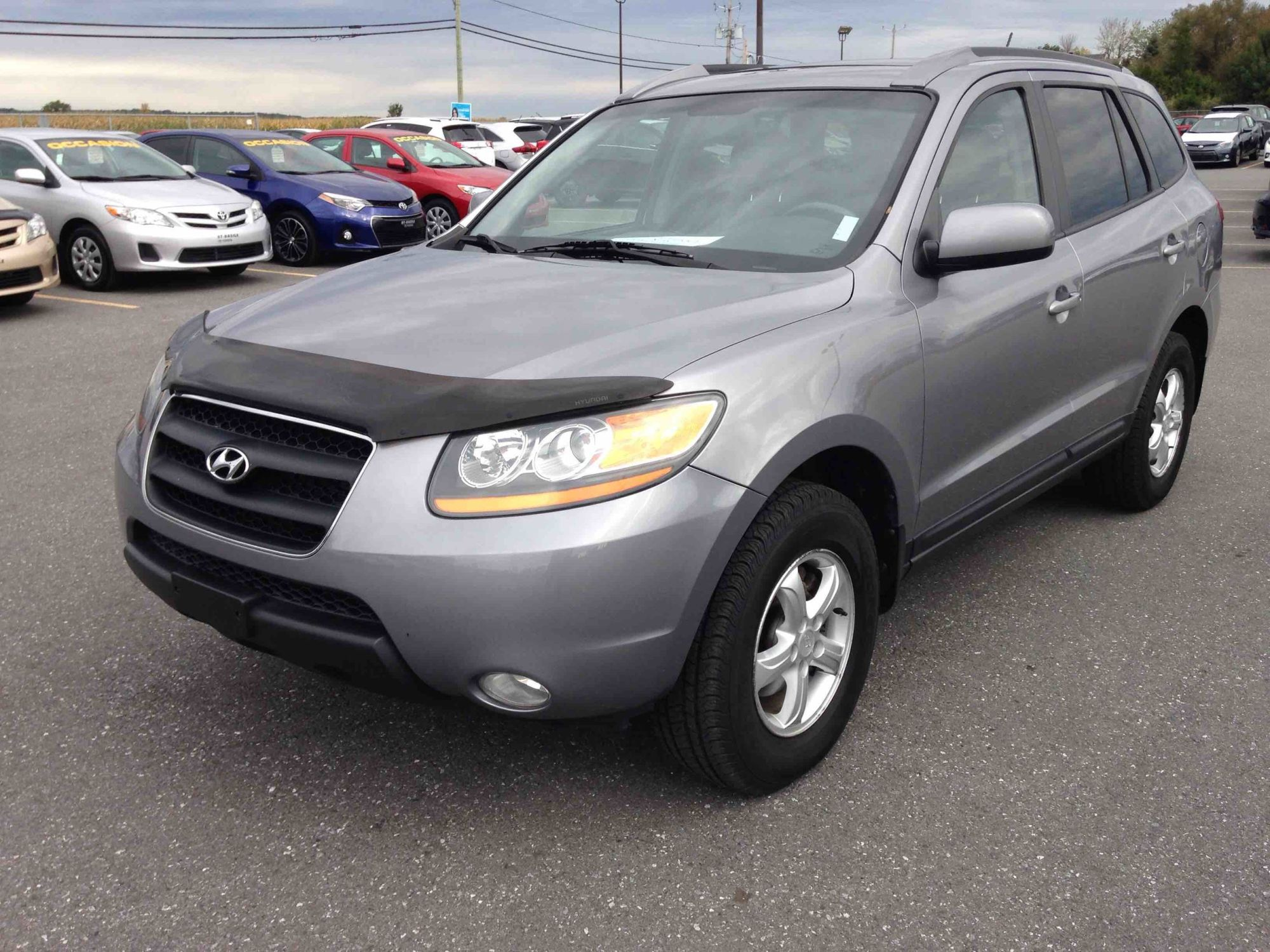 hight resolution of st basile toyota pre owned 2008 hyundai santa fe gls for sale in saint basile le grand