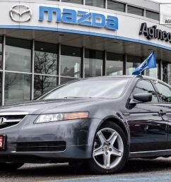 agincourt mazda pre owned 2005 acura tl as is navi lthr htd sts no accidents for sale [ 1024 x 768 Pixel ]