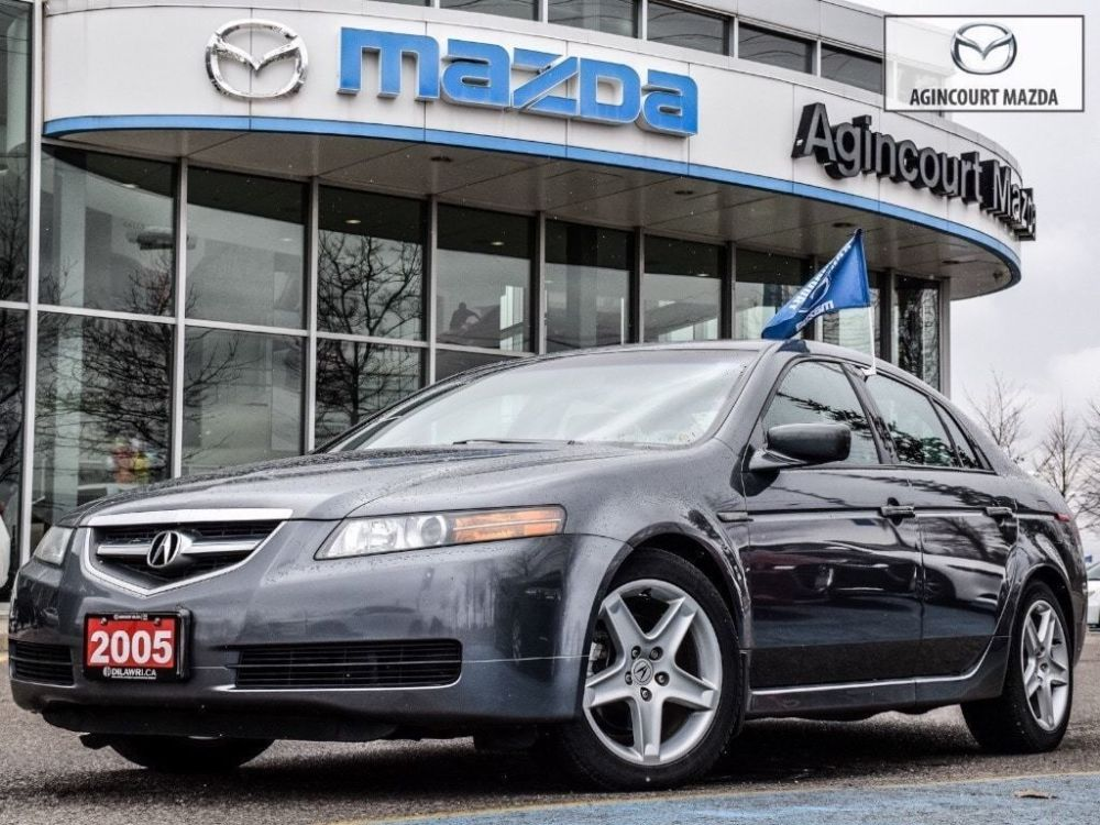 medium resolution of agincourt mazda pre owned 2005 acura tl as is navi lthr htd sts no accidents for sale
