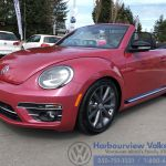 Used 2017 Volkswagen Beetle Convertible Pink Edition Auto For Sale 27770 Harbourview Vw