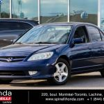 Used 2004 Honda Civic Si Sedan Toit Mags Propre In Montreal Laval And South Shore 96982a