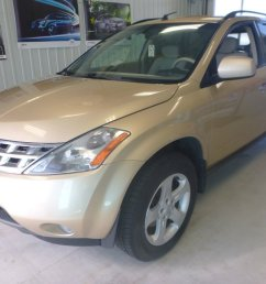 used 2004 nissan murano sl in val d or used inventory aub kia in val d or quebec [ 1024 x 768 Pixel ]