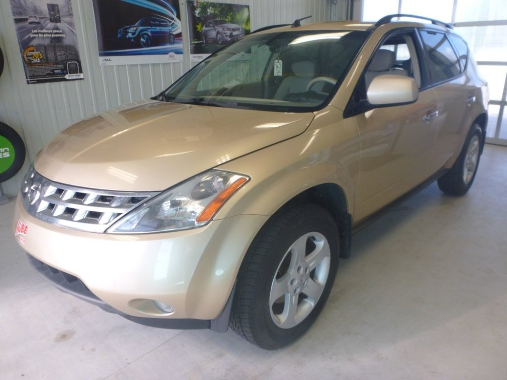 medium resolution of used 2004 nissan murano sl in val d or used inventory aub kia in val d or quebec