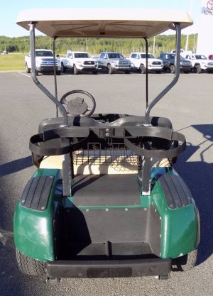 Used 2001 EZGO Gas golf cart in Grand Falls  Used inventory  McClure Toyota in Grand Falls
