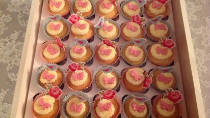Gorgeous Little Butterfly Cakes Or Fairy Cakes Recipe Genius Kitchen