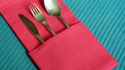 serviette napkin folding the
