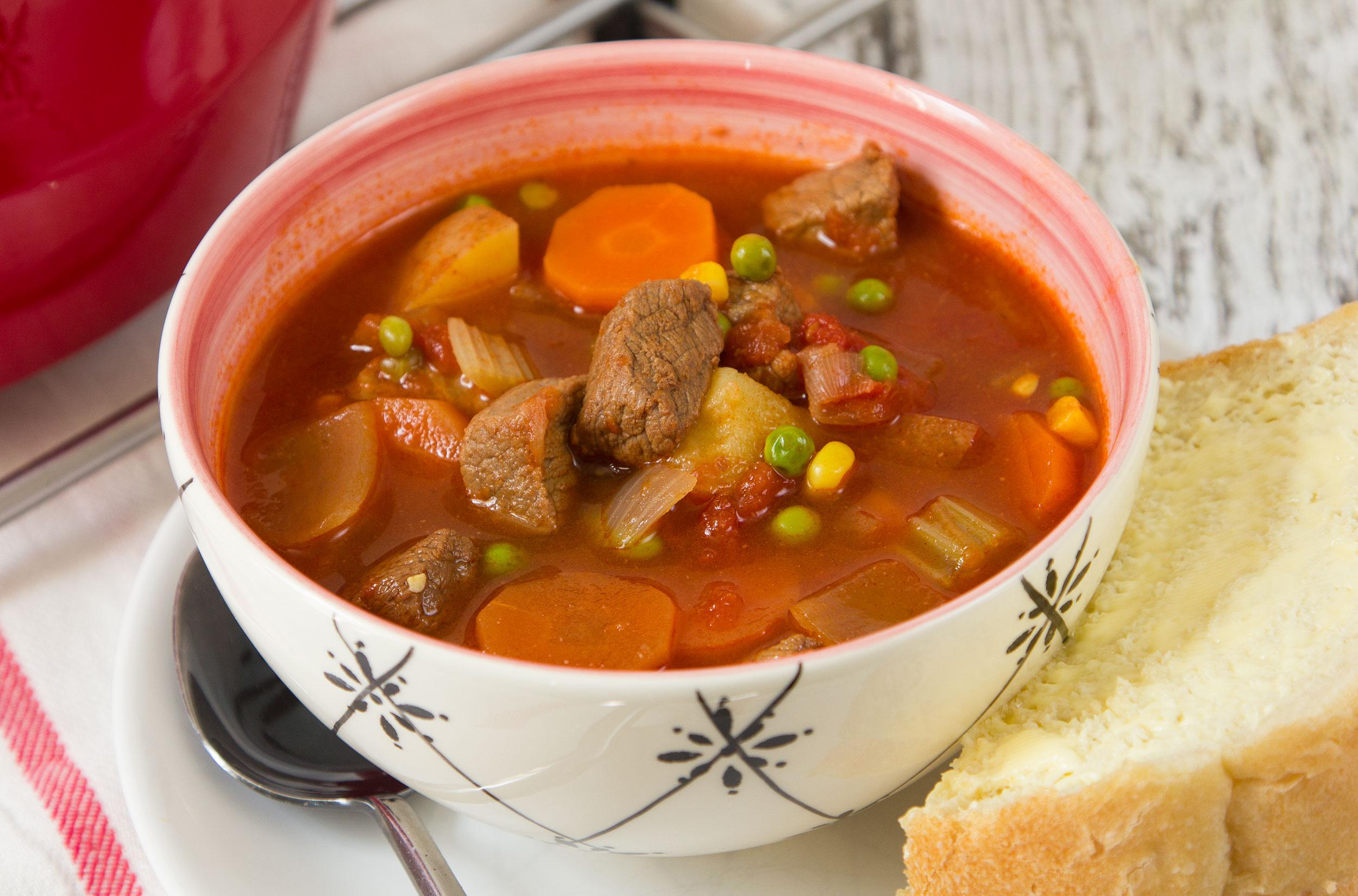 quick vegetable beef stew