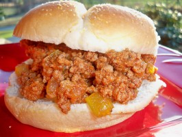 Slow Cooker Sloppy Joes. Photo by Lainey6605